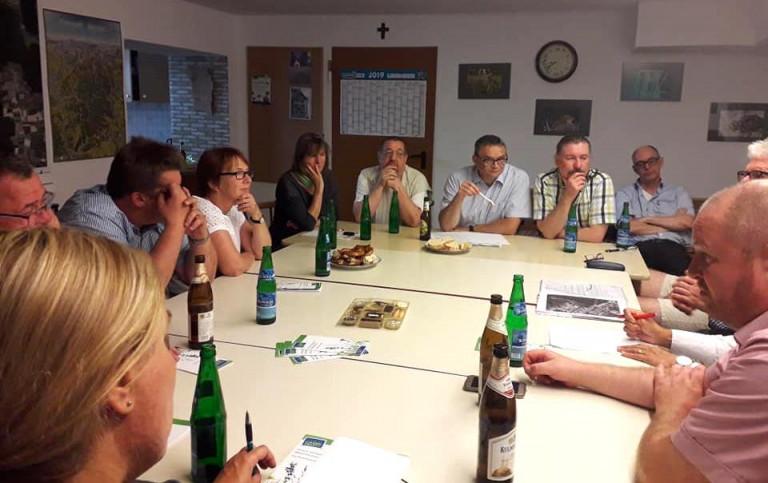 Informationstreffen mit dem Naturschutzverein